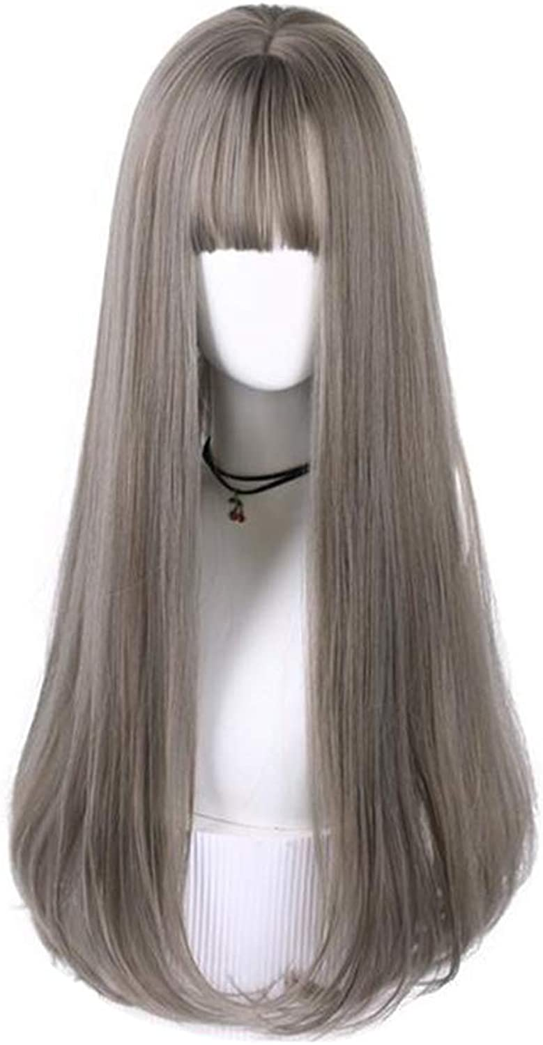 Ppy778 Wig, Natural Heat Resistant Cosplay Wig, Women Straight Hair Wigs