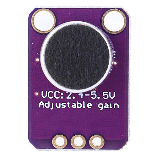 Electret Microphone Amplifier Module GY-MAX4466 Breakout Sensor Adjustable Gain CMA-4544PF-W for Arduino with Jump Wire