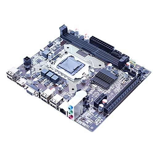 MPGIO Placa Base de computadora H61 LGA 1155 Placa Base DDR3 Memoria de Doble Canal 16G para CPU Intel LGA1155 Xeon