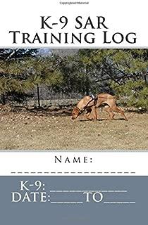 K-9 SAR Training Log