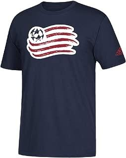 adidas New England Revolution Men's Team Logo T-Shirt Navy