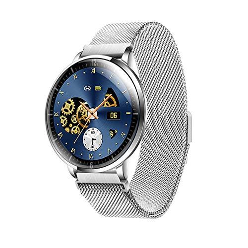 WMB Nuevo Reloj Inteligente Deportivo de Z58 para Hombres y Mujeres IP68 Dispositivos portátiles Impermeables a Prueba de Agua Bluetooth Fitness Tracker Pulsera Smartwatch Ultrafino,A