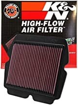K&N Engine Air Filter: High Performance, Premium, Powersport Air Filter: Fits 2001-2017 HONDA (GL1800, Gold Wing, F6B Deluxe, AC, ACN XM, ABS, Airbag, F6B, Valkyrie, ABS, Gold Wing PA) HA-1801