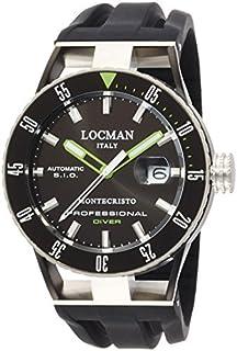 Locman - Locman Montecristo Diver 0513knkgbknksik reloj para hombres de [Regular importados]