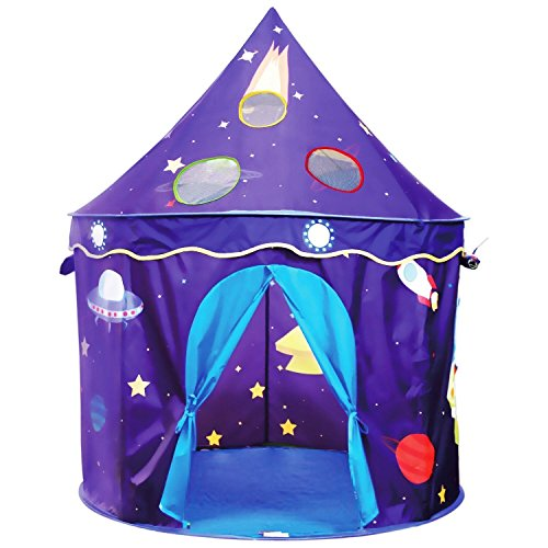 Livememory Kids Play Tent Children's Pop Up Tent for Boys Girls Indoor and Outdoor Plays
