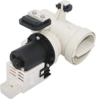 W10130913 Washer Drain Pump with Motor and Impeller Blades Assembly (120V, 60Hz) By Primeswift,Original Version,Replacement for Whirlpool Kenmore Washing Machine W10730972,8540024