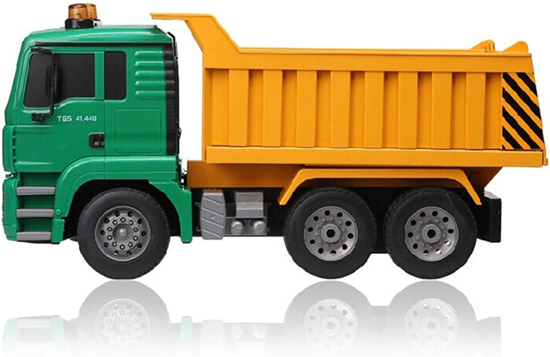WANJU 1 20 RC Truck 2,4 GHz Kipper LKW Fernbedienung Dumper Projekt Kippwagen Engineering Elektronische Modell Hobby Geburtstag Spielzeug Kinder Alter 6+ 2,5 km h B07K6PLGX6 Tadellos  | Genialität