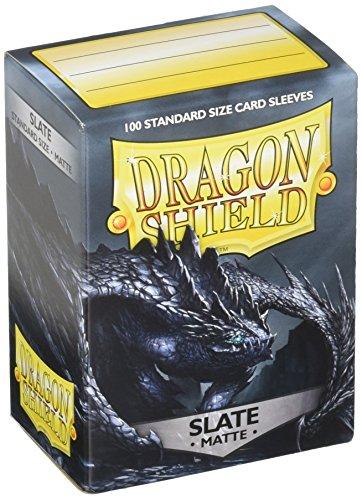 Arcane Tinman AT-11027 Dragon Shield Sleeves: Matte Slate (100)
