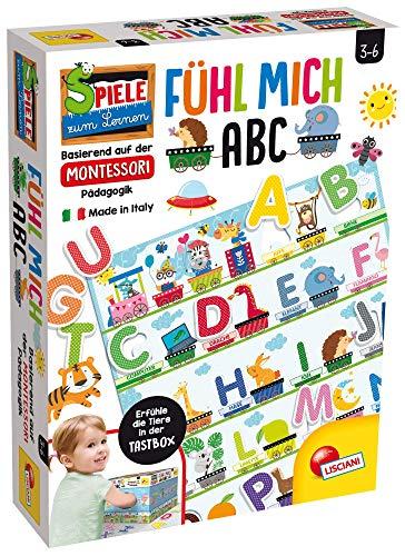 Lisciani 72446 Montessori Plus Buchstaben