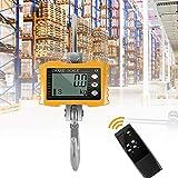 S SMAUTOP Peson Électronique, Balance Suspendue Industrielle Lourde Balance Affichage numérique LED Intelligente Balance Suspendue avec télécommande Charge 1000KG (2200LBS), pour Farm Factory(Jaune)