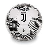 Mondo Toys - Pallone da Calcio cucito F.C Juventus Pro - size 2 - 150 g - Colore bianco/nero - 13414
