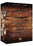 Coffret western : la conquete de l'ouest ; pale rider ; rio bravo ; la horde sauvage ; la ...