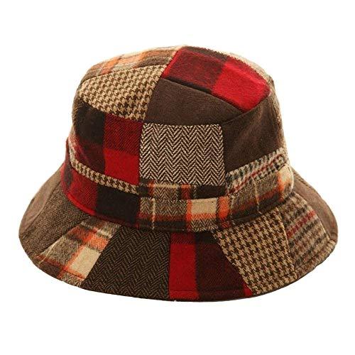 Textiles Universels Bob Style bigarré - Adulte Unisexe (59cm) (Rouge)