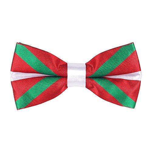 CravateSlim Noeud Papillon Drapeaux du Monde - Noeud Papillon Homme Prénoué (Drapeau Basque)