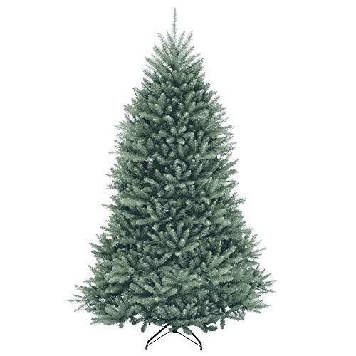 artplants.de Künstliche Blautanne Berlin Speed, blau, 230cm, Ø 150cm - künstlicher Weihnachtsbaum