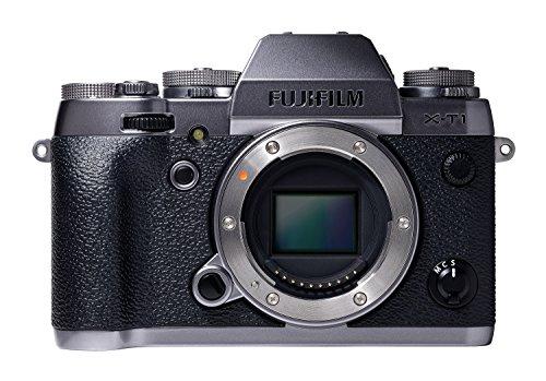 """Fujifilm X-T1 - Cuerpo de cámara Evil de 16.3 MP (Pantalla 3"""", grabación de vídeo, WiFi), Color Grafito Plateado"""