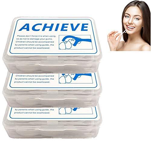 Zahnseide,zahnseide stick, 3 Schachteln (150 Stück) Einweg-Zahnseide Zahnseide Zahnpflege Zahnseide, Tragbare Zahnseide, Saubere Zähne Zur Entfernung Von Plaque Und Speiseresten