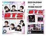 BTS CALENDARIO 2020 + BTS IMÁN DEL REFRIGERADOR