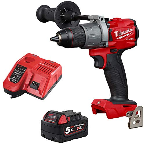 Milwaukee M18FPD2-0 18v Li-ion GEN3 Fuel Brushless Percussion Combi Drill 5Ah