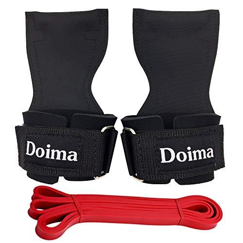 Doima(ドイマ) パワーグリップ 筋トレ トレーニンググローブ リストストラップ リストラップ チンニング グ...