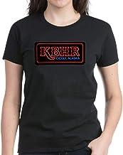 CafePress KBHR Neon Sign Women's Dark T Shirt Cotton T-Shirt
