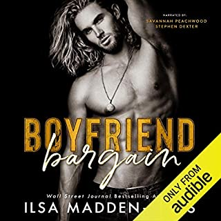 Boyfriend Bargain audiobook cover art