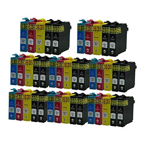 ZYL - Cartuchos de tinta de repuesto compatibles con Epson 18XL XP-215 XP-315 XP-415 XP-102 XP-202 XP-325 XP-422 XP-305 XP-402 XP-405 XP-405WH XP-312 XP-425 XP-205 XP-212 XP-30 XP-302 (40 x 8 y 8 unidades)