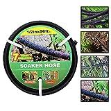 Best Soaker Hoses - Soaker Hose -Garden Hose 25 FT/50FT/75FT with 1/2'' Review