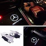 Luci LED proiettori logo sottoporta CLA E C207 E A207 CLS C218 AMG portiera plug&play portiere no codice errore canbus light welcome ghost projector car tuning SPECIFICI 7w 2 PEZZI