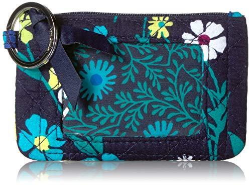 Vera Bradley Women's Signature Cotton Zip, Moonlight Garden, One Size