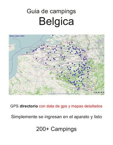 Guia de campings en BÉLGICA (con data de gps y mapas detallados)