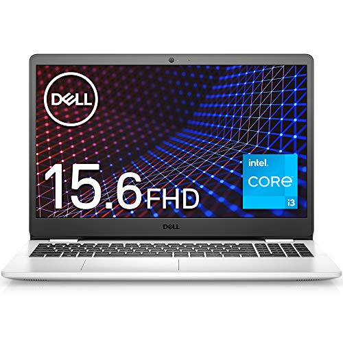 Dell ノートパソコン Inspiron 15 3501 ホワイト Win10/15.6FHD/Core i3-1115G4/8GB/256GB/Webカメラ/無線LAN NI335A-AWLW