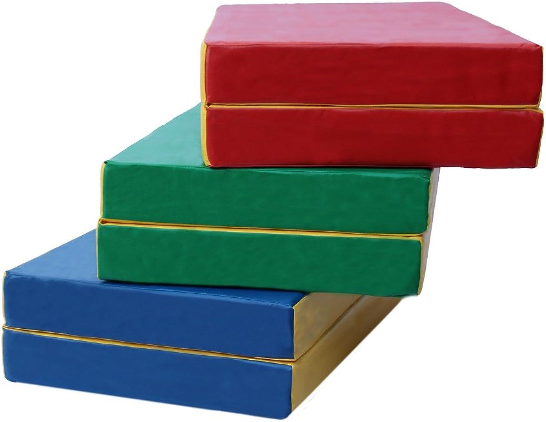 Crash Gymnastic mat 100 x 80 x 10 cm (40'' x 32'' x 4''), Folding