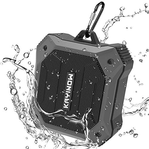Portable Bluetooth Speaker Waterproof,IPX7 Shower Speaker with Deep Bass,Loud Sound,12 Hours Playtime TWS Small Speaker for Bicycle Hiking Outdoor Camping