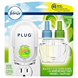 Febreze Plug in Air Freshener and Odor Eliminator, Scented Oil Refill and Oil Warmer, Gain Original Scent, 1 Count