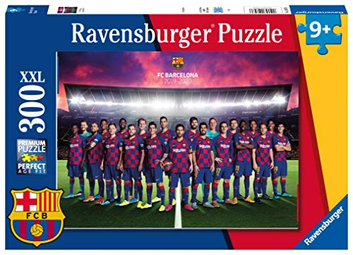 Ravensburger - Puzzle Barcelona FC, 300 piezas XXL (12897)