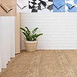 Suelo de vinilo autoadhesivo 0,6 x 5 m, protección para el suelo, resistente al desgaste,...