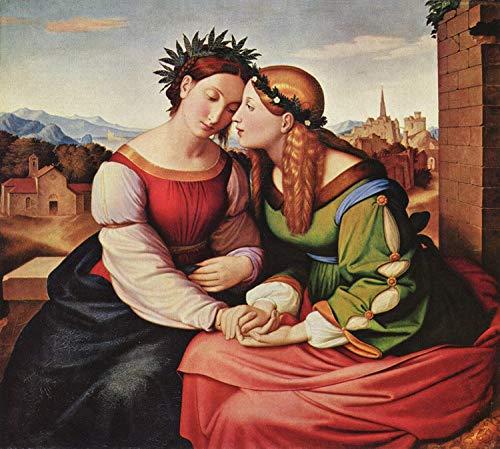 Steve Art Gallery Italia and Germania,Friedrich overbeck,50x45cm