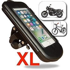 WESTIC FTWD-18L Soporte para teléfono de bicicleta o Motocicleta ...