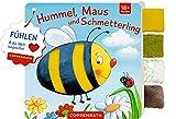 Mein Fühl-Laschenbuch: Hummel, Maus und Schmetterling: Fühlen und die Welt begreifen