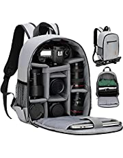 TARION Camera Bag Professional Camera Backpack Camera Case with Laptop Compartment Waterproof Rain Cover for Women Men Photographer Lens Tripod TB-S