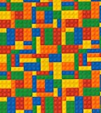CraftsFabrics - Spielblöcke aus gewebtem Baumwolldruck