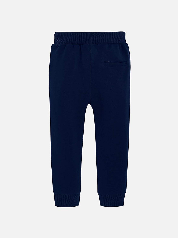 Mayoral - Basic Cuffed Fleece Trousers for Boys - 0742, Navy