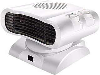 OOFAT Calentador De Ventilador, Calefactor Eléctrico Portátil con 3 Ajustes, Termostato De Regulación, Calefactores De Ambiente Interior con Protección contra Sobrecalentamiento