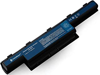 Globalsmart Batería para portátil Alta Capacidad para Acer Aspire 7750G 9 Celdas Negro