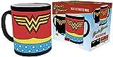 DC Comics Comics Wonder Woman Mug à changement de chaleur en céramique 15 x 10 x 9 cm