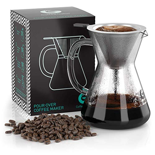 Coffee Gator Paperless Pour Over Coffee...