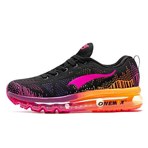 ONEMIX Air Laufschuhe Damen Sportschuhe Straßenlaufschuhe Turnschuhe Walkingschuhe Sneaker 1118 HMH 37