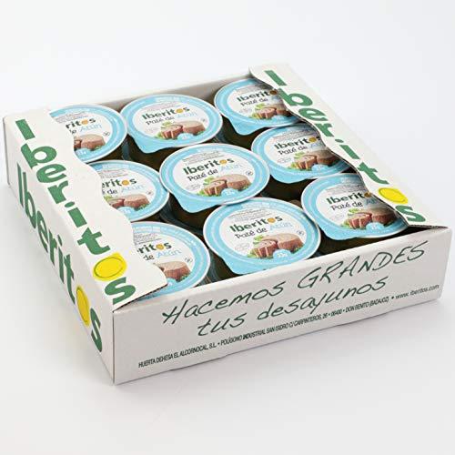 Iberitos - 18 Monodosis de Crema de Atun - 22 Gramos