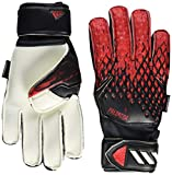 adidas Youth Predator 20 Match Fingersave Gloves, Black/Active...